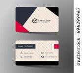 vector modern creative and... | Shutterstock .eps vector #696299467