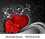 valentines day background   Shutterstock .eps vector #69631618