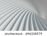 lines. abstract background. 3d... | Shutterstock . vector #696328579