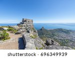 cape town table mountain cable... | Shutterstock . vector #696349939