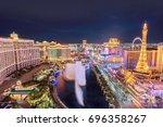 las vegas  usa   july 25  2017  ... | Shutterstock . vector #696358267