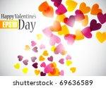 valentine background  eps10 | Shutterstock .eps vector #69636589