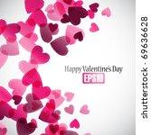 valentine background  eps10 | Shutterstock .eps vector #69636628
