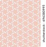 vector beige pattern. geometric ... | Shutterstock .eps vector #696380995