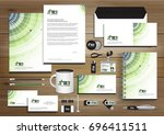 vector abstract stationery