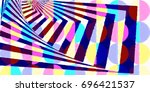 simple but complex color block  ... | Shutterstock . vector #696421537