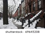 Typical Brownstone Row Houses...