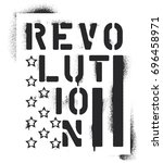 ''revolution'' Inscription And...