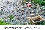 water pollution | Shutterstock . vector #696462781