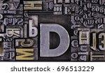 historical letterpress types ... | Shutterstock . vector #696513229