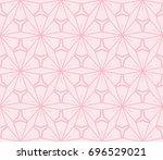 stylish geometric background.... | Shutterstock .eps vector #696529021