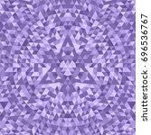 purple geometric triangle... | Shutterstock .eps vector #696536767