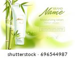 design cosmetics product...   Shutterstock .eps vector #696544987