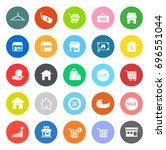 sale icons | Shutterstock .eps vector #696551044