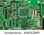 printed circuit board | Shutterstock . vector #696552889