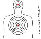 bullseye template printable - shooting target vector download 126 templates page 2