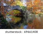 autumn at ogwen bank in the... | Shutterstock . vector #69661408