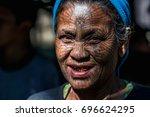 kyee chaung  myanmar   dec 29 ... | Shutterstock . vector #696624295