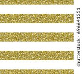 gold glitter background. golden ... | Shutterstock .eps vector #696641251