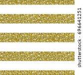 gold glitter background. golden ... | Shutterstock .eps vector #696641251