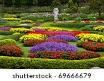 Flower Garden In North Of...