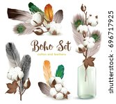 boho style decorations with