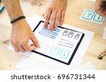 tablet app interface design