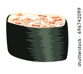 illustration of japanese crab... | Shutterstock .eps vector #696742099