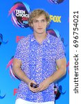 Small photo of LOS ANGELES - AUG 13: Logan Paul at the Teen Choice Awards 2017 at the Galen Center on August 13, 2017 in Los Angeles, CA
