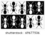 ant background vector