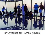 dubai  uae   october 21  2016 ... | Shutterstock . vector #696775381