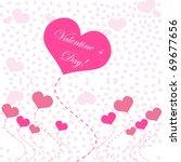 abstract hearts. vector...   Shutterstock .eps vector #69677656