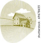 woodcut style illustration of...   Shutterstock .eps vector #69678655