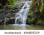 Tiptoe Waterfall In Portola...