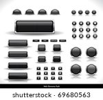 web elements pack | Shutterstock .eps vector #69680563