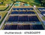 aerial view of modern... | Shutterstock . vector #696806899