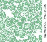 abstract elegance seamless... | Shutterstock . vector #696851035