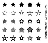star icon isolated on white...