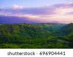 coffee cultural landscape of... | Shutterstock . vector #696904441
