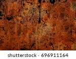 rusty texture in grunge style | Shutterstock . vector #696911164