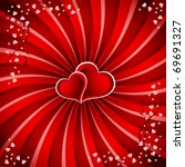 valentine s day background | Shutterstock .eps vector #69691327