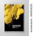 vector black and gold design... | Shutterstock .eps vector #696926101