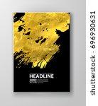 vector black and gold design... | Shutterstock .eps vector #696930631