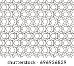 abstract geometric pattern with ... | Shutterstock .eps vector #696936829