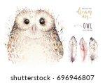 Watercolor Natural Birds...
