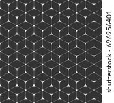 vector seamless pattern of... | Shutterstock .eps vector #696956401
