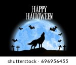 nice and beautiful abstract for ... | Shutterstock .eps vector #696956455