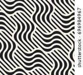 vector seamless pattern. modern ...   Shutterstock .eps vector #696984967