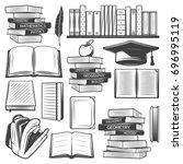 Vintage Education Elements Set
