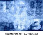 numbers background | Shutterstock . vector #69700333